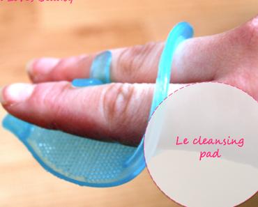 Un nouvel accessoire pour se nettoyer le visage : le cleansing pad !