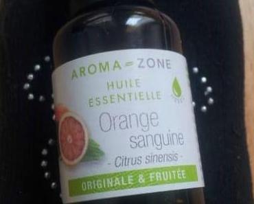 L'odeur terrible d'un jus d'orange bien frais dans un flacon....huile essentielle d'orange sanguine