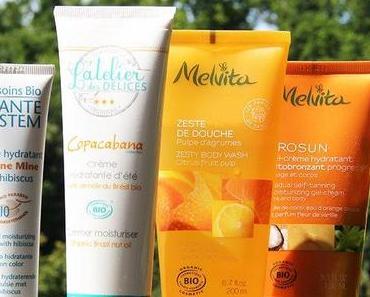 Des produits bio qui sentent bon l'été !