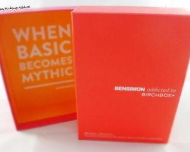 Bensimon addicted to Birchbox