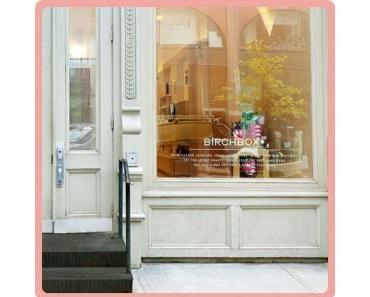 La première boutique Birchbox