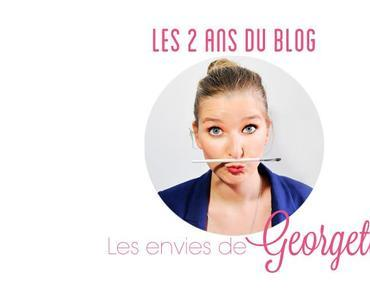 Le blog a 2 ans ! #GeorgetteBirthday