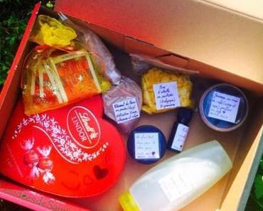 Mon 2e swap : les produits que j'ai envoyé à Lauriane.
