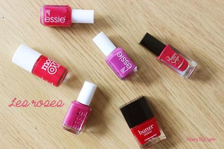 Les vernis roses | Beauty By Cyann