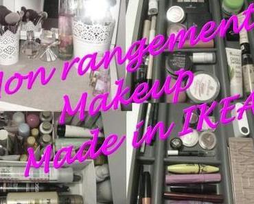 Mon rangement Makeup made in IKEA
