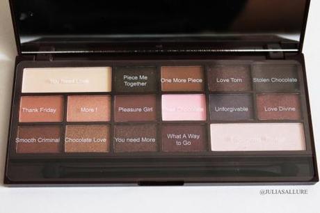 [ Tuto Maquillage] Un maquillage frais et lumineux avec l'alternative de la chocolate Bar par Makeup Revolution