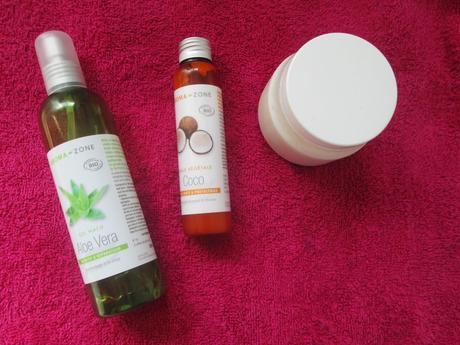 shampoing cheveux secs KERASOIN, Poudre de Sidr Aroma Zone, Gel d'Aloe Vera, Huile de coco Aroma Zone