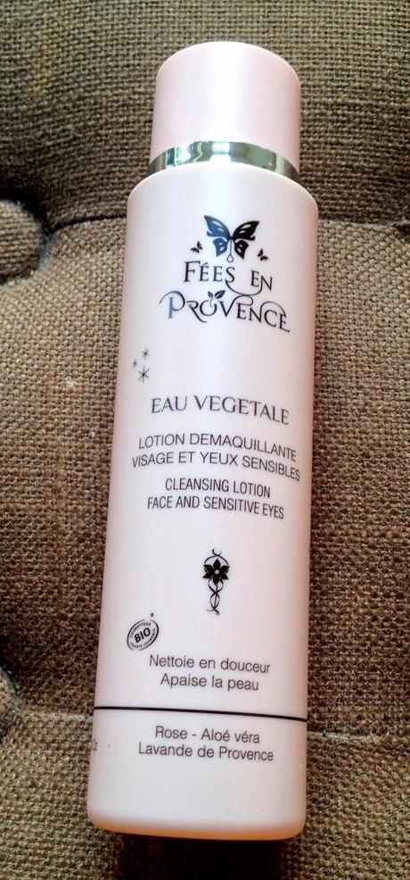 eau végétale démaquillante - Fées en Provence