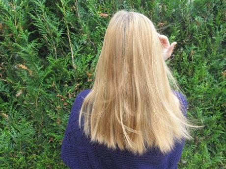Mon blond après utilisation du spray DESSANGE
