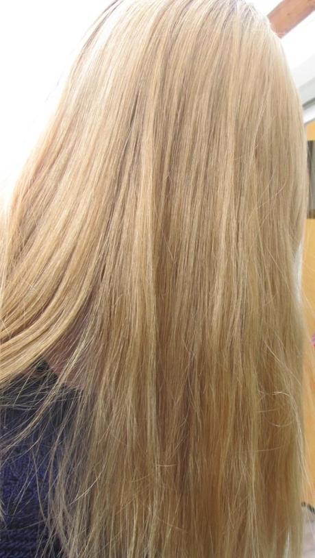 Mes cheveux après l'utilisation du spray