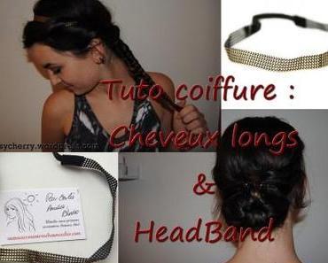 Tuto coiffure : 2 coiffures, 1 headband et des cheveux longs