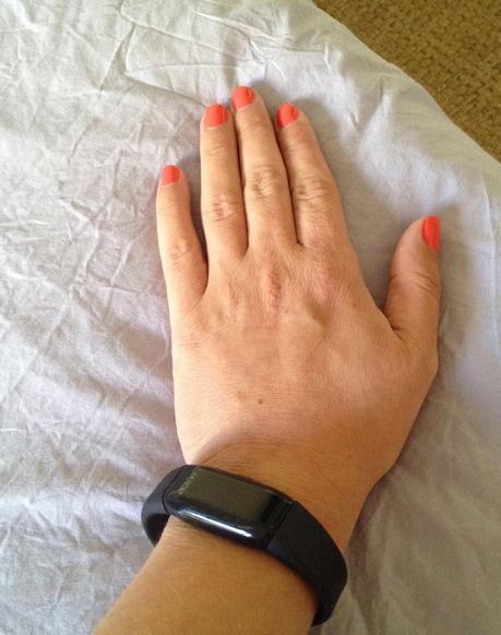 Je reste connectée avec mon bracelet Activi-T Band !