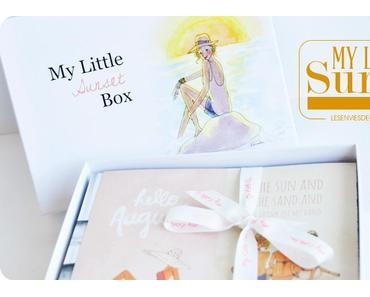 My Little Sunset Box : aurevoir My Little Box