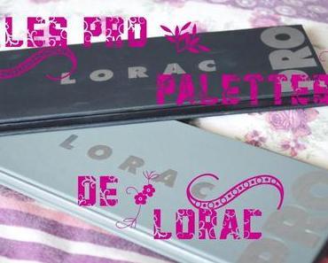 ❀ Pro palette de Lorac… la 1 ou la 2???