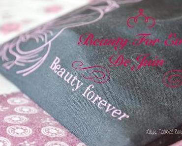 ✿ Ma box chouchoute: La Beauty forever de Juin.