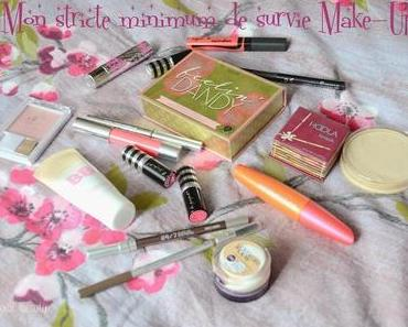 ❀ Mon strict minimum Make-Up.