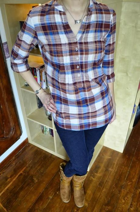 DSC0022 ❀ Tenue de bûcheronne bien féminine.