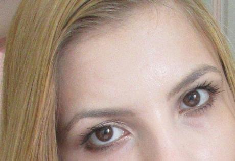 Mes yeux avec ce mascara Bourjois