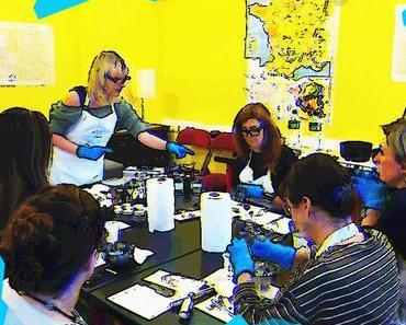 Cosmétique maison #2, Christine forme les apprenties cosméteuses