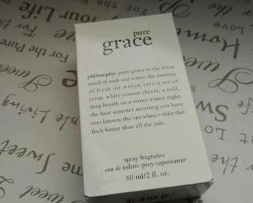 """Pourquoi """"Pure grace"""" n'est pas un parfum pour moi"""