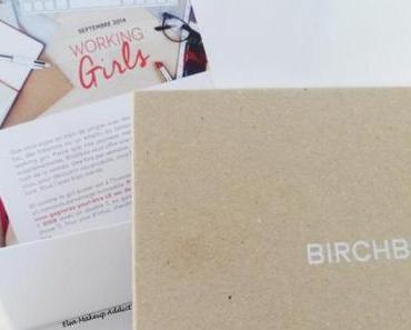 C'est la rentrée des Working Girls avec Birchbox