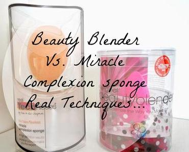 Beauty Blender Vs. Miracle Complexion Sponge Real Techniques