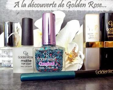 A la découverte de Golden Rose avec Lily's Natural Beauty