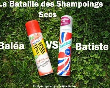 La bataille des shampoings secs, Baléa ou Batiste?