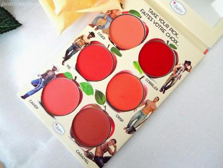 Blush gourmand avec How'bout them Apples ? de The balm