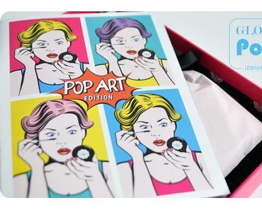 Glossybox Pop Art Edition : une boite colorée pour la rentrée