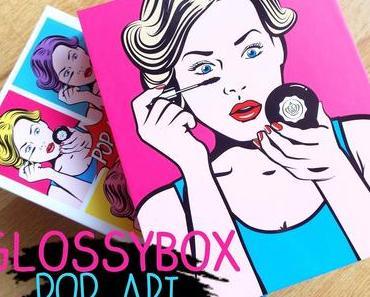 La Glossybox Pop Art : première déception