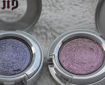 Un maquillage qui brille avec les fards moondust d'Urban Decay….