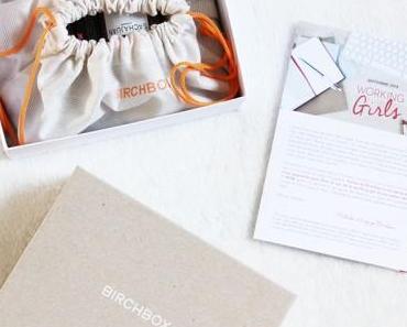Quand Birchbox nous prend pour des Working Girls – Septembre 2014