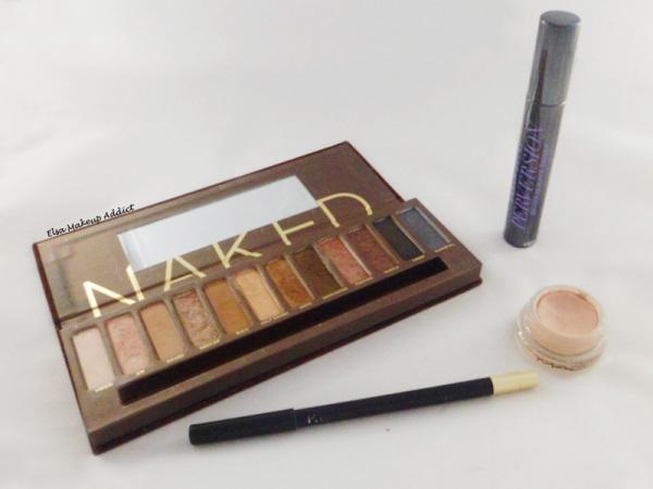 Makeup Quotidien Naked Palette 4