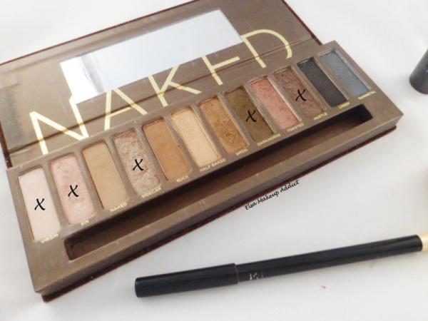 Makeup Quotidien Naked Palette 5