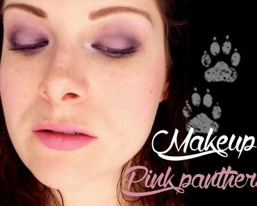 Makeup Pink Panthers avec la Cat eyes