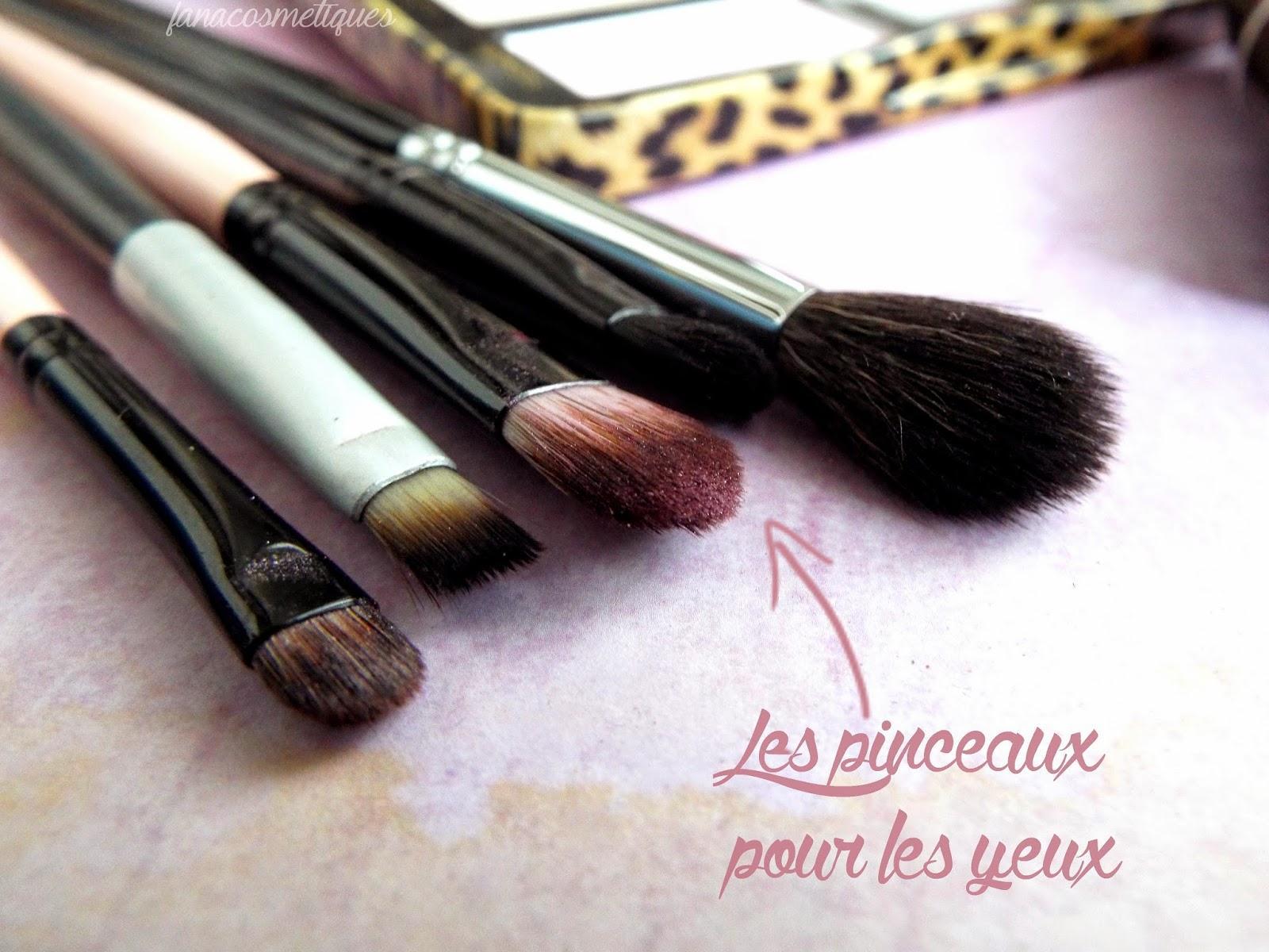 Makeup Pink Panthers avec la Cat eyes