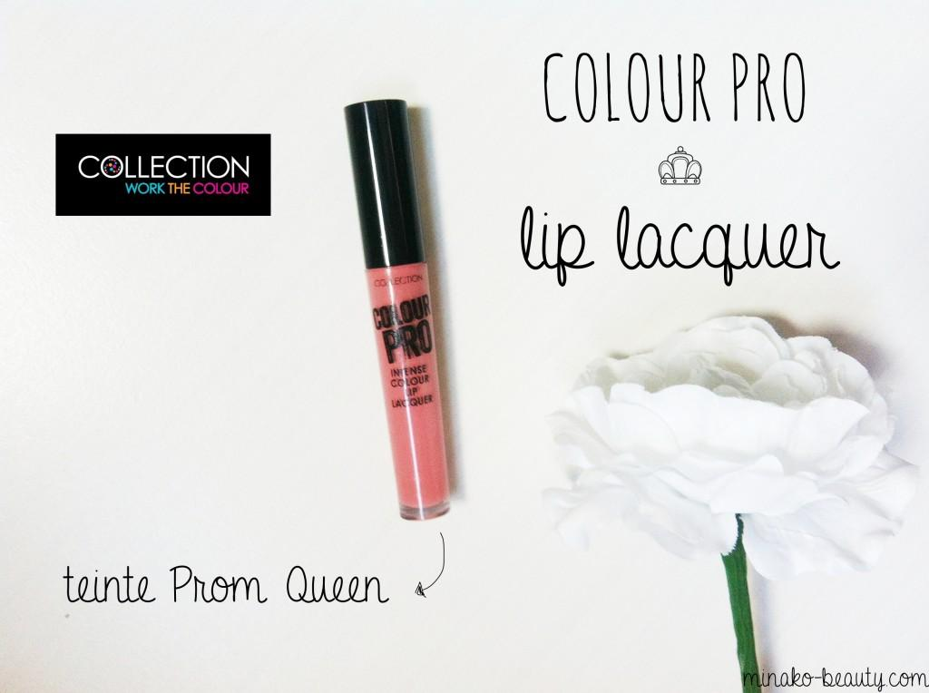 Colour Pro Collection teinte Prom Queen'-Minako Beauty