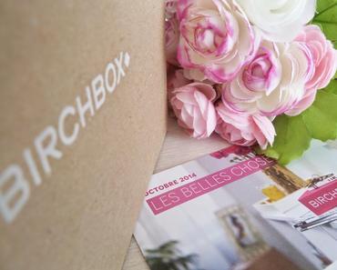 """""""Les Belles Choses"""" - Birchbox octobre 2014"""