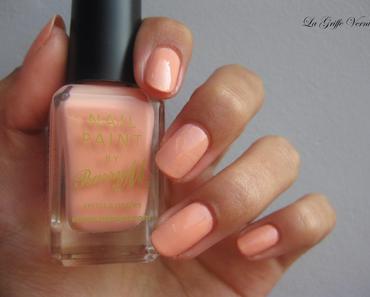 [Swatch] Peach Melba - Barry M