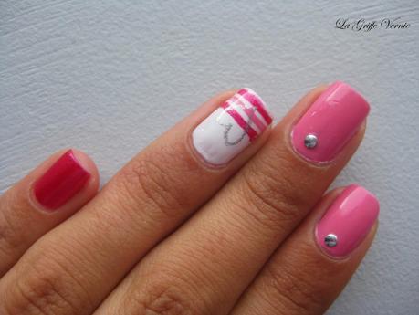 Nailstorming #79  Du rose pour Octobre !