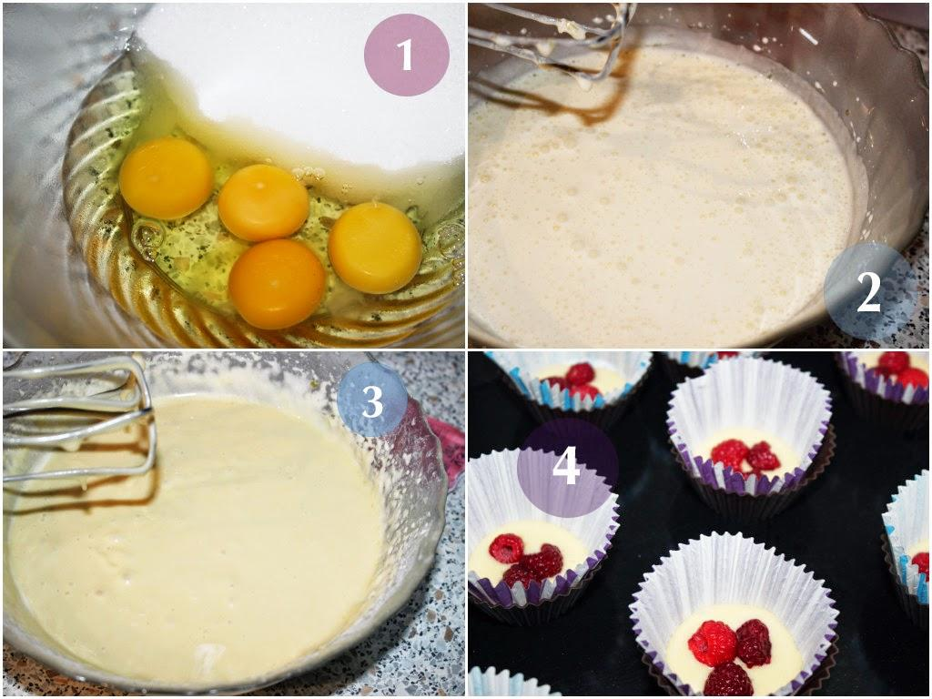 Easy recipe : Cupcakes à la framboise