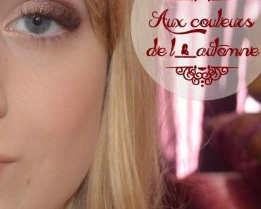 Maquillage aux couleurs de l'automne