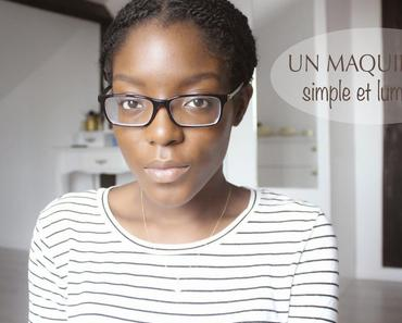 Un maquillage simple et lumineux