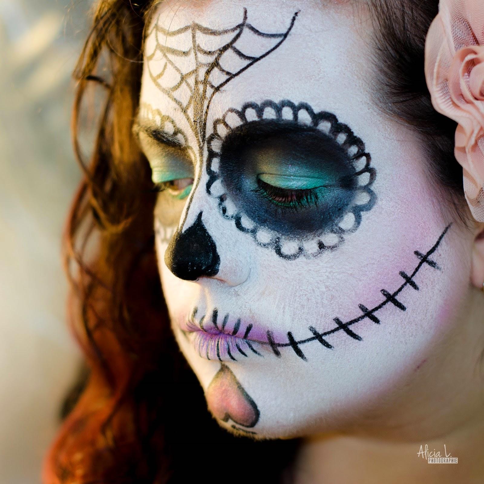 El dia de los muertos - Maquillage dia de los muertos ...