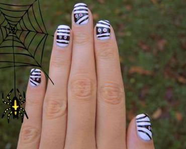 Nail art facile pour Halloween !
