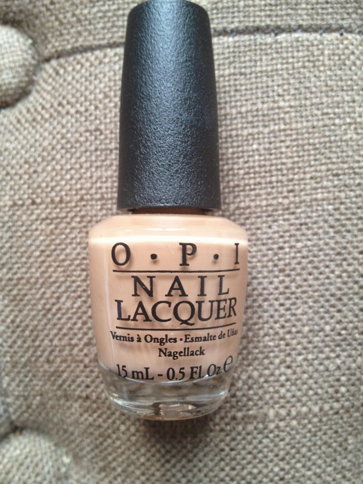 sur mes ongles cette semaine : Collection Nordic - OPI