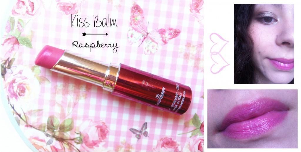 Kiss Balm Kiko Raspberry-montage-Minako Beauty