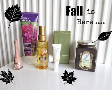 Ces produits qui m'aident à traverser l'automne