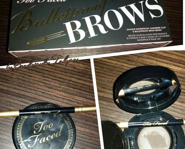 Revue : Bulletproof Brows by Too Facded